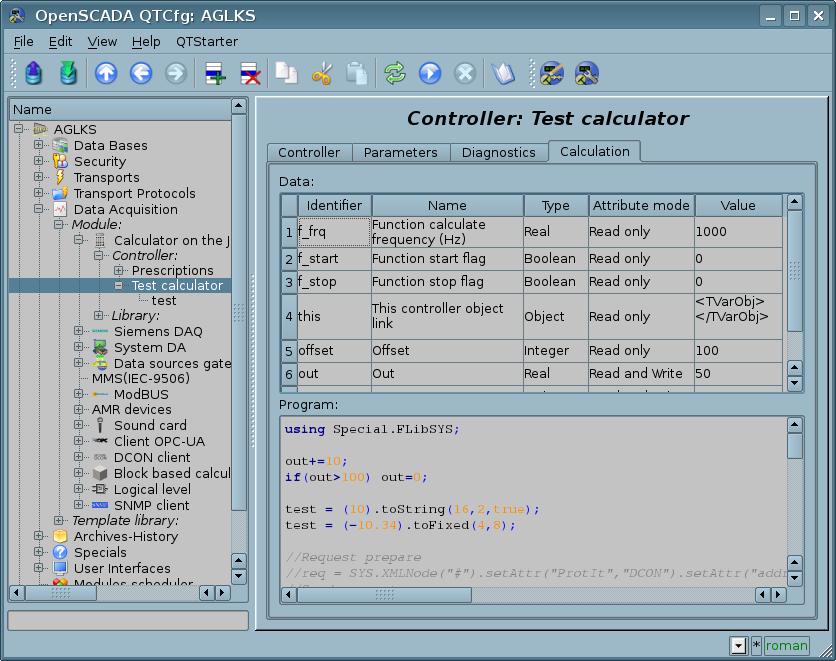 Modules/JavaLikeCalc - OpenSCADAWiki